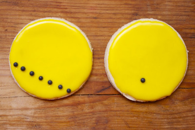 Transit of Venus sugar cookies via CosmoCookie