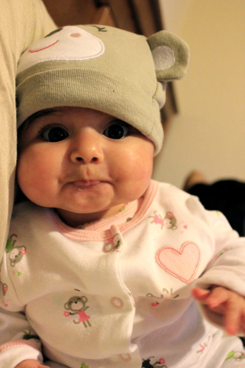 I just wanna pinch her cheeks!