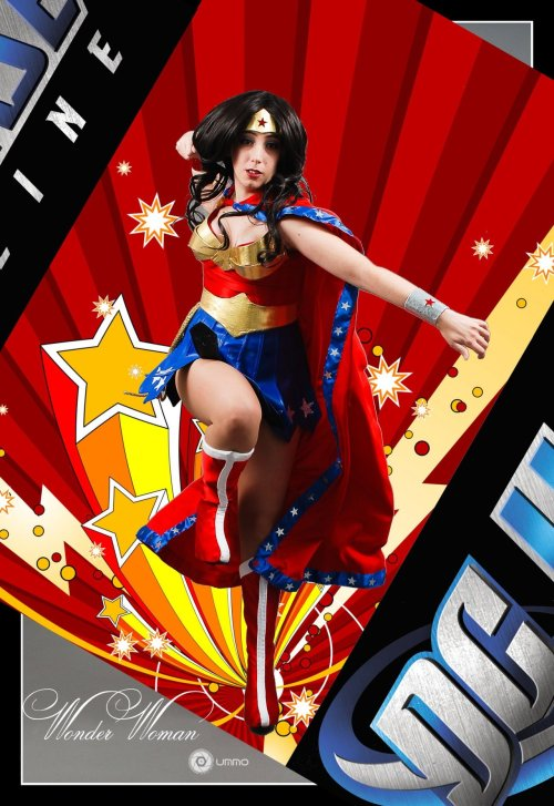 comicbookcosplay:  Wonder Woman, DC Universe Online photo by Adrian Ummo Submitted by neferet-cosplay