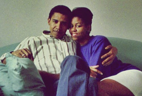aeropooch:  Barack and his main squeeze.