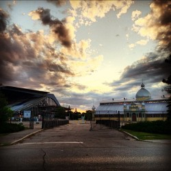 #sunset #sky #clouds #lansdowne #aberdeenpavilion #ottawa (Taken with Instagram)