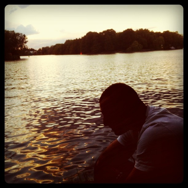 #berlin #lake (Taken with Instagram)