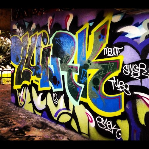 Quirk Tmi #quirk #tmi #graffiti #marina #penit (Taken with Instagram)