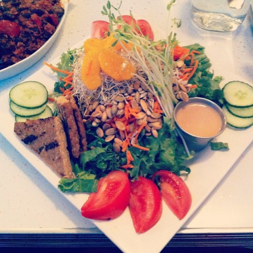 """California Salad"" #glutenfree #food (Taken with Instagram)"