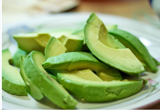 Health Note: Fresh avocados do wonders for the skin.