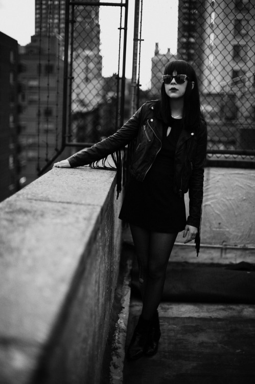 Dee Dee of Dum Dum Girls
