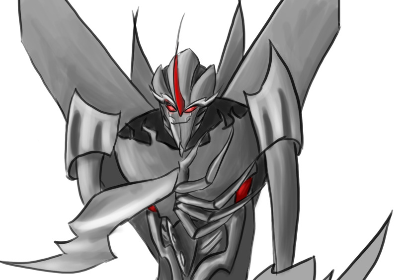 Quick Starscream for Demi :3