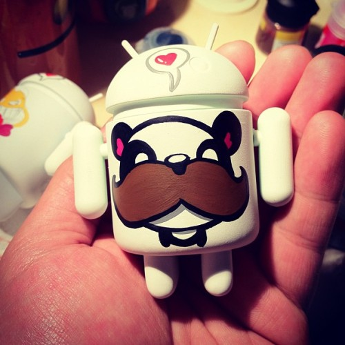 SDCC WIP :) #sdcc #android #everynightartdorks  (Taken with Instagram)