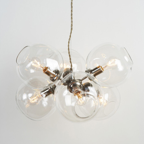 (via TENOVERSIX — Bubble Chandeliers)