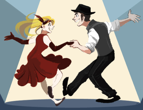 chiumonster:  isaac and miria swing dancing, because they make me the happiest.