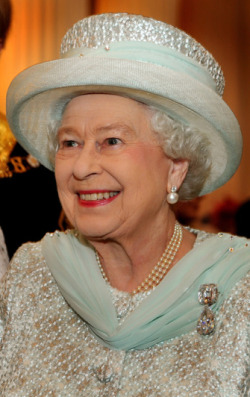 "QUEEN'S DIAMOND JUBILEE SPECIAL - QUEEN ELIZABETH II This week has been all about celebrating the Queen's Diamond Jubilee - 60 years as monarch! Now, we all know that every girl desires to dabble into the lifestyle of the Royal one day, but until that moment comes, we shall fantasise about frolicking across green gardens, gliding across Buckingham's ballrooms and delivering that exquisite ""wave"" to onlookers as we pass by in our horse-drawn carriages. Here are some shots of our favourite people whose middle name is ""Royalty"" (so jealous of them right now) …. check these out until your Prince Charming comes along (and don't worry, he will) !  Image Source: Zimbio"