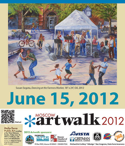 Next week is Moscow Art Walk!