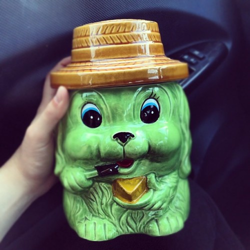 Went ahead & picked up my urn today.  (Taken with Instagram)