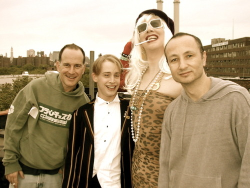 Macaulay Culkin, Randy Barbato and Fenton Bailey