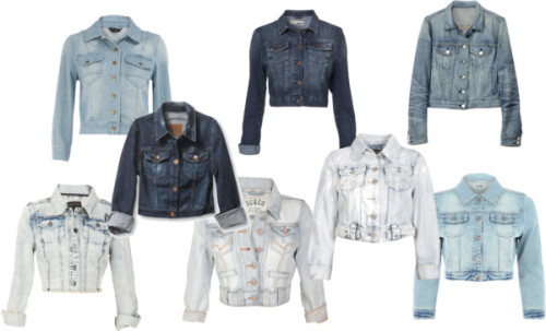 Denim Jacket Collage by thehautebunny featuring a jean jacketQuiksilver jean jacket, $52Jean jacket, £35Jean jacket, £30Crafted jean jacket, £20Rag bone jean jacket, $265Dorothy Perkins jean jacket, $59Denim jacket, $76