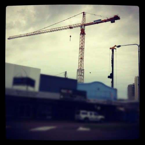 Progress! #FlindersSt #townsville #hutchinson #builders #qld #government (Taken with Instagram)