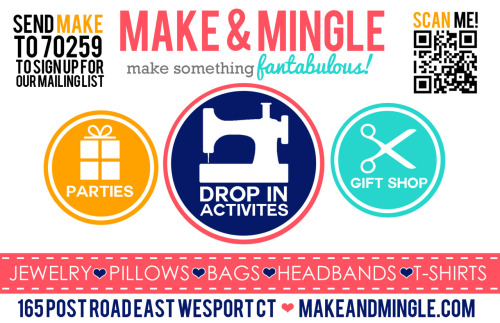 Make & Mingle FLYER