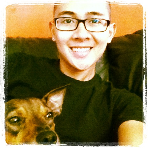 just-me-marc:  my puppy and i