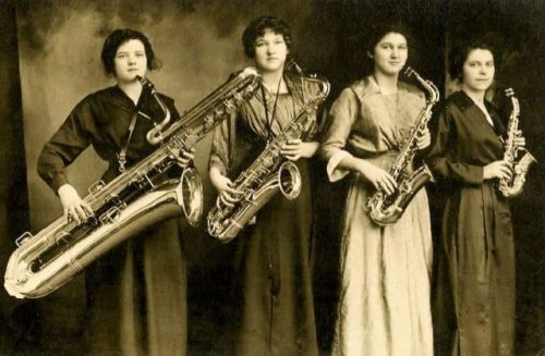 The Darling Saxophone Four - circa 1919