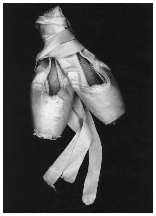 whatstheenpointe:  tired pointe shoes