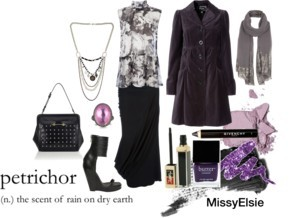 Petrichor by missyelsie featuring topaz jewelry
