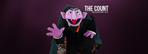 The Count Sesame Street Facebook Cover