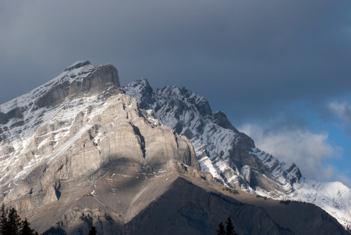 Mountain near Banff, Canada
