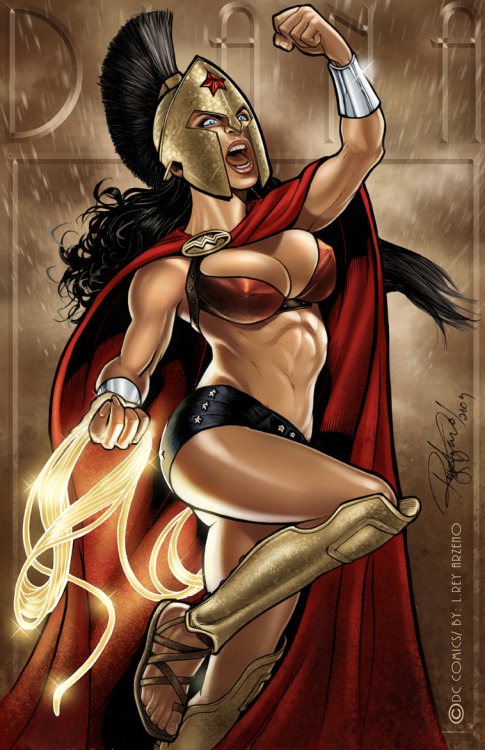 This is Themyscira by Rey Arzeno