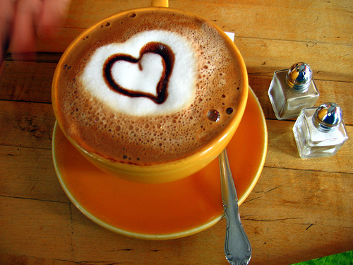 Coffee reduce risk of heart disease.