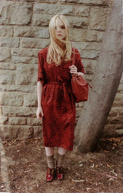skeletales:  Elle Fanning in Marc by Marc Jacobs' Fall 2011 Campaign