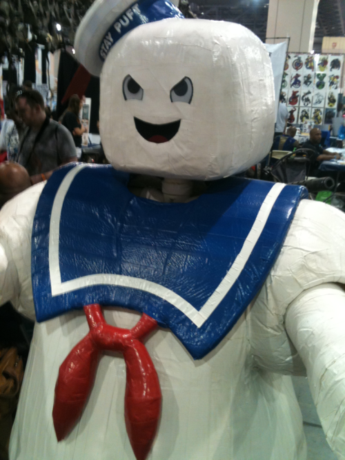 Stay Puft Marshmallow Man costume. Wizard World Philadelphia. June 3rd, 2012.