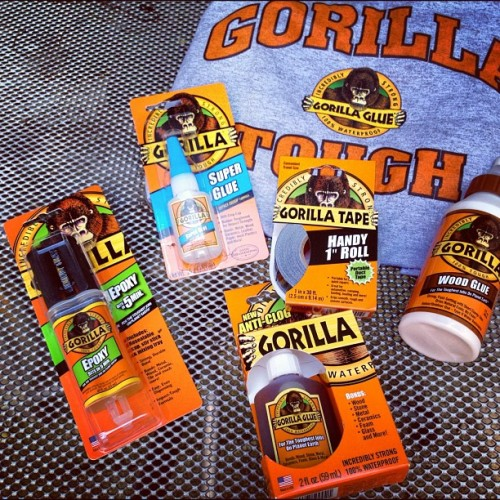 Gorilla Glue giveaway at TheSoilToil.com! (Taken with Instagram)