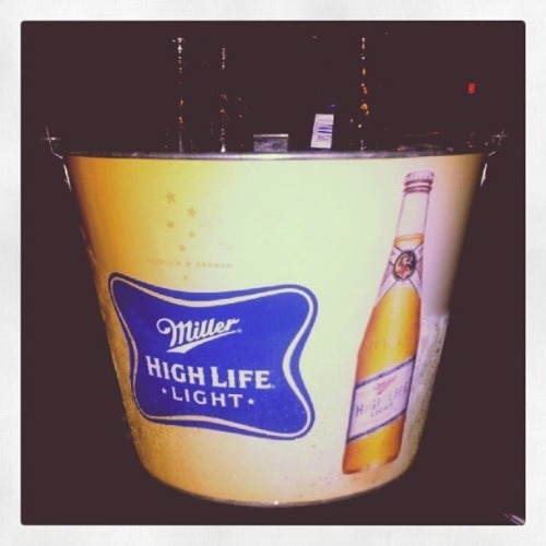High Life (Taken with Instagram) I want one of these buckets