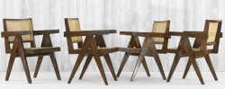 Pierre Jeanneret's Chandigarh furniture  via midcenturia