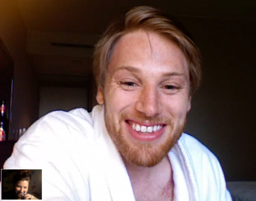 just finished skyping with the cutest boy alive.