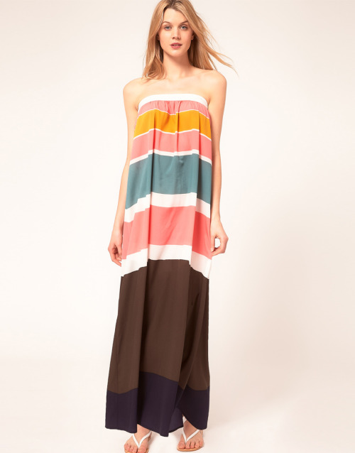 Princesse Tam Tam Colour Block Beach Maxi DressMore photos & another fashion brands: bit.ly/J3Wmti