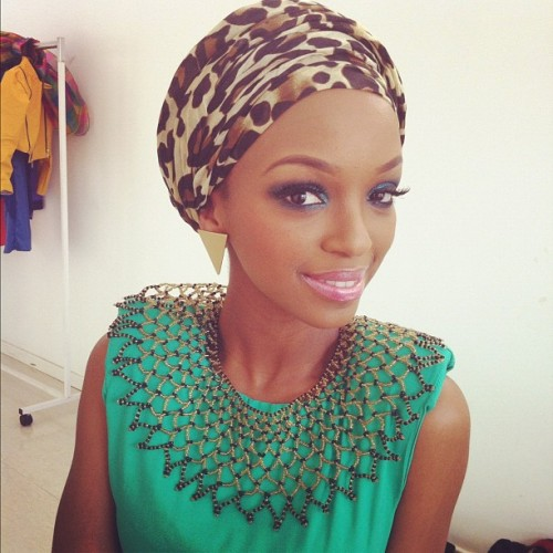 africandimebeautyinside:  nandi-mnandi:  Thats Me! Was at a True love magazine shoot, for the August Issue. :) Great Team, Great people.  pretty
