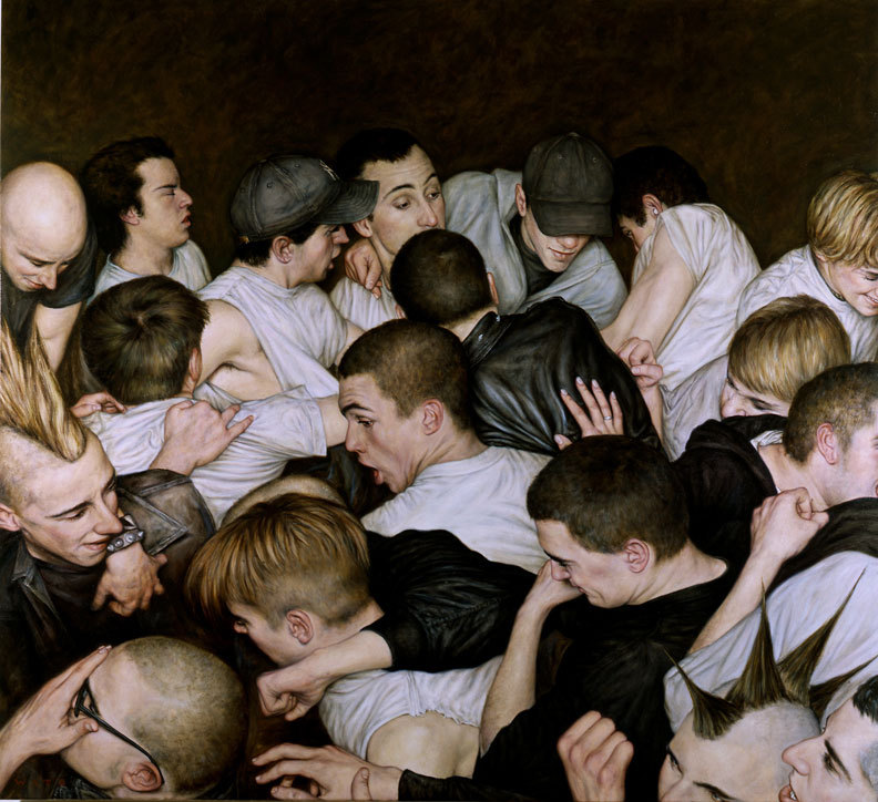 just-art:  Oil paintings by Dan Witz