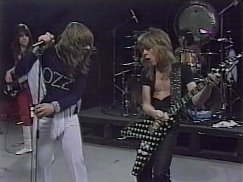 Ozzy and Randy Rhoads on FistFace Friday.