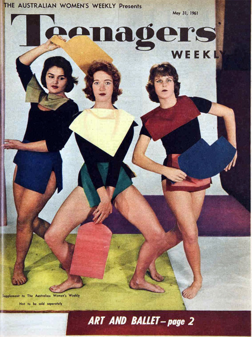 theswinginsixties:  Art and ballet inTeenagers' Weekly, 1961.