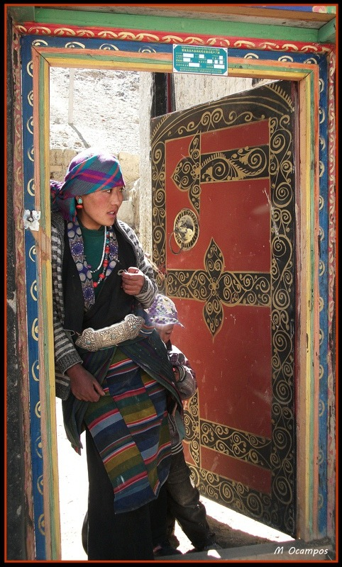 talesoftheeast:  in Tibet.