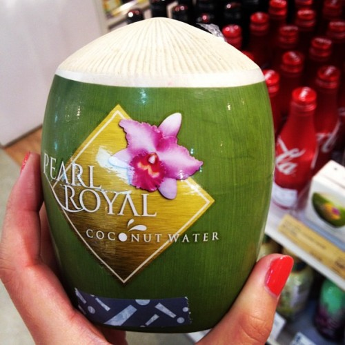 Coconut water to go. Anyone? (Taken with Instagram at LOG-ON)