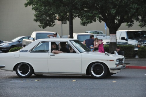 lexus2jz:  Datsun Bluebird.  Just saw this car on my way home no less than 5 minutes ago.