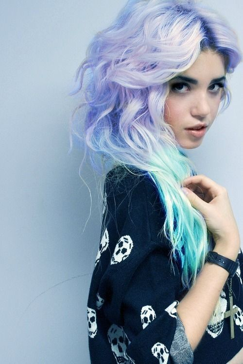 thedevillhimself:  mermaid hair