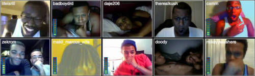 wusreallygoodie:  OH MY……TINYCHAT IS THE TEA  LMFAO!