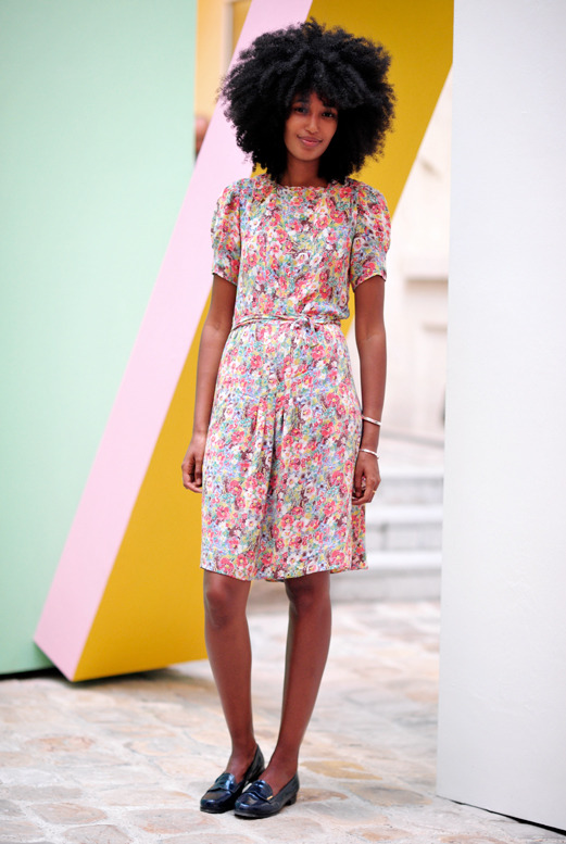 the lovely Julia Sarr Jamois. (image: hanneli)