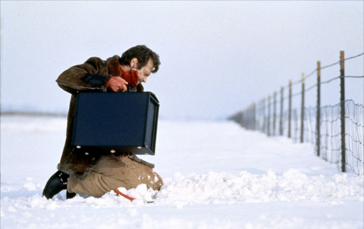 Fargo, 1996 Good film, illustrates quite well the careful and witty film making of the Cohen brothers when working in perfect sync. Also demonstrates their cheeky side in pretending it was a true story which is probably the thing about it which will stick with me most. Anyway it's a nice twist on the standard crime thriller format. The highlight of the film for, as for everybody, is Frances McDormand.