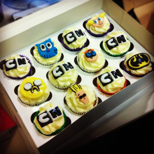 Cartoon Network Cupcakes!