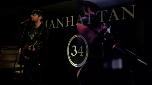 Just started editing the footage from the comedy night at Manhatten 34 feat. Dan Wallbank and others. I thought I'd give you a taste of what I've prepared. I have more ideas but I don't want to over-complicate a simple live recording…