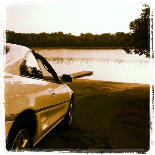 Nice drive here.   (Taken with Instagram at Long Hunter State Park)